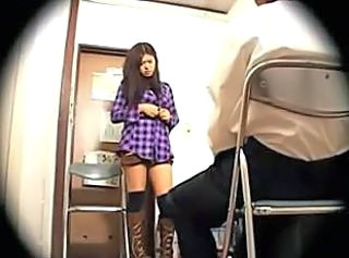 HiddenCam Voyeur Stripper Asian Teen Caught Caught Teen