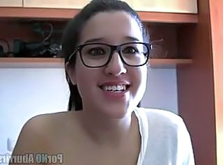 Spanish Glasses Cute Amateur Teen Cute Amateur Cute Ass