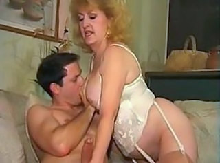 Kitty Foxx & A Young Cock
