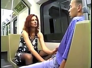 Public German Handjob German Milf Milf Stockings Public