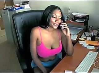 Office Ebony Big Tits Ass Big Cock Ass Big Tits Big Cock Milf