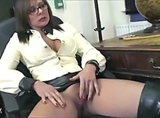 Glasses Masturbating MILF Milf Ass Mistress