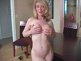 Mature Nina Hartley In Pantyhose As Never Seen Part...