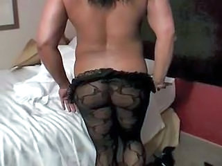 Ebony Muscled Pantyhose Pantyhose