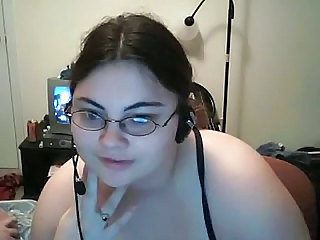 Webcam Glasses BBW Bbw Milf Milf Ass