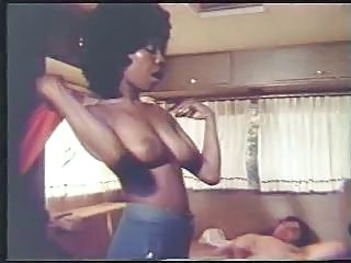 Retro Interracial Scene