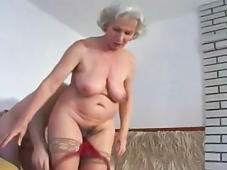 Another One of Granny Norma Fucking in Stockings