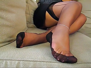 Feet Fetish Legs Mature Stockings Stockings