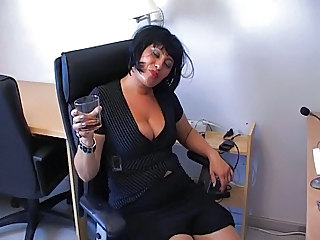 Drunk Secretary Office Milf Office Office Milf