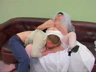 Bride Clothed Licking Mature Stockings Stockings
