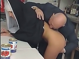 Teen Uniform Clothed Old And Young Dirty Daughter Mom