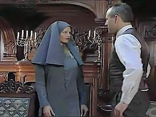 Video from: tnaflix | nun is at it again with an obliging suitor
