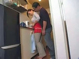 Kitchen MILF Asian Milf Asian