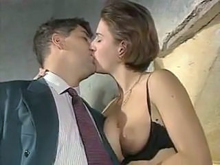 European French Kissing European French French Milf