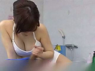 Handjob Massage Natural Asian Babe Babe Ass Handjob Asian