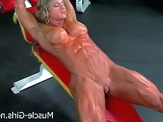 Video from: pornhub | Massive Muscular Ripped Female B...