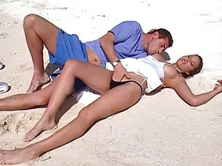 Beach Pornstar Amazing Outdoor