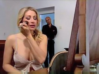 Blonde Lingerie  Blonde Anal Double Anal European