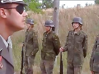 Army Outdoor Teen German German Teen Hardcore Teen