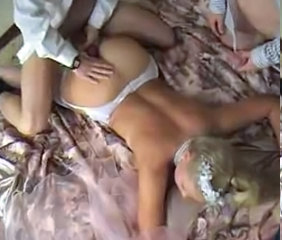 Cuckold Russian Threesome Blonde Teen Russian Teen Teen Ass