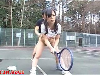 Japanese drilled during tennis game