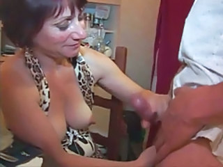 Handjob French Mature French Mature Handjob Mature