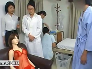 Bizarre Japan doctor handjob penis measuring research Stream Movie