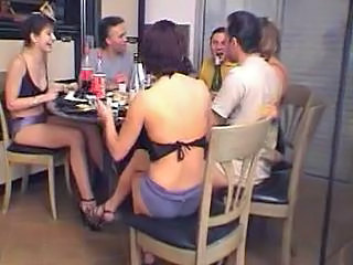 Drunk French Groupsex French Kitchen Sex