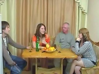 Family Groupsex Old And Young Old And Young Family Serbian Nurse Young