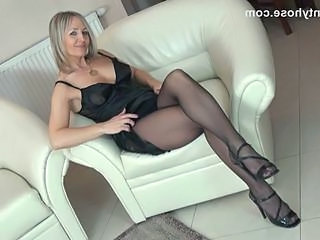 Pantyhose Blonde  Milf Ass Milf Pantyhose