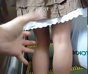Skirt Dress Dildo Riding