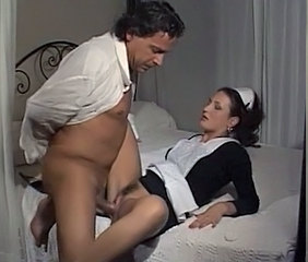 Hairy Maid Clothed European Vintage Hairy