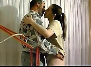 Daddy Vintage Kissing Daddy Daughter Daughter Ass