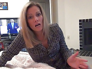 Blonde MILF Foot Footjob Milf Pantyhose