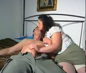 Brunette Handjob  Milf Stockings Stockings