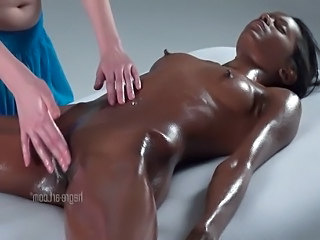 Oiled Ebony Massage Lesbian Nipples Ebony Ass Lesbian Massage Massage Lesbian Massage Oiled Massage Orgasm Oiled Ass Orgasm Massage