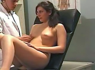 Doctor Brunette Uniform Gyno Girlfriend Blonde