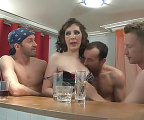 Drunk European French French Milf