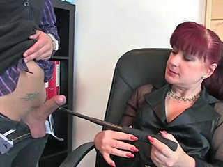 Office donna pleases couple...