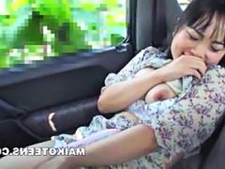 Car Asian Japanese Japanese School School Japanese Schoolgirl