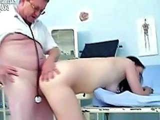 Doctor Doggystyle Old and Young Doctor Teen Doggy Teen Gyno
