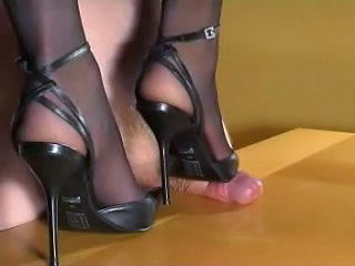 Feet Extreme Femdom Slave Trampling High Heels Hairy Milf Wife Busty