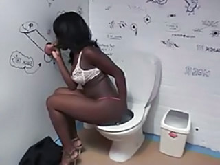 Gloryhole Blowjob Ebony