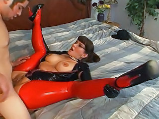 Clothed Latex Fetish