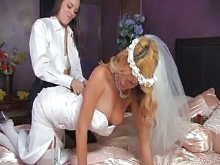 Video from: pornhub | Hot Lesbian Bride