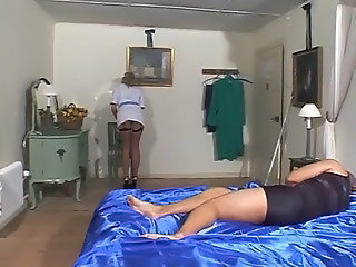 Maid British European British Fuck British Milf Fishnet