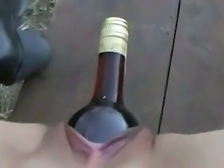 Outdoor bottle fuck