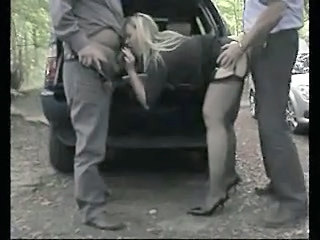 Car Clothed European Blowjob Milf British British Milf