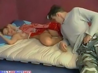 Sleeping Mom Old and Young  Old And Young Russian Amateur