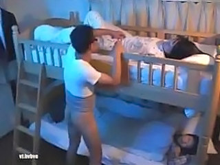 Sleeping Asian Teen Asian Teen Sister